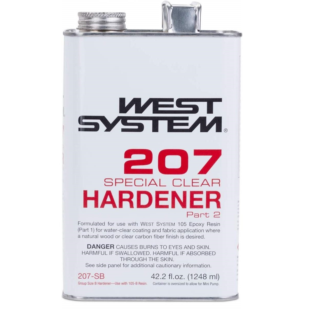 West System 207SB Special Clear Hardener 42.2oz