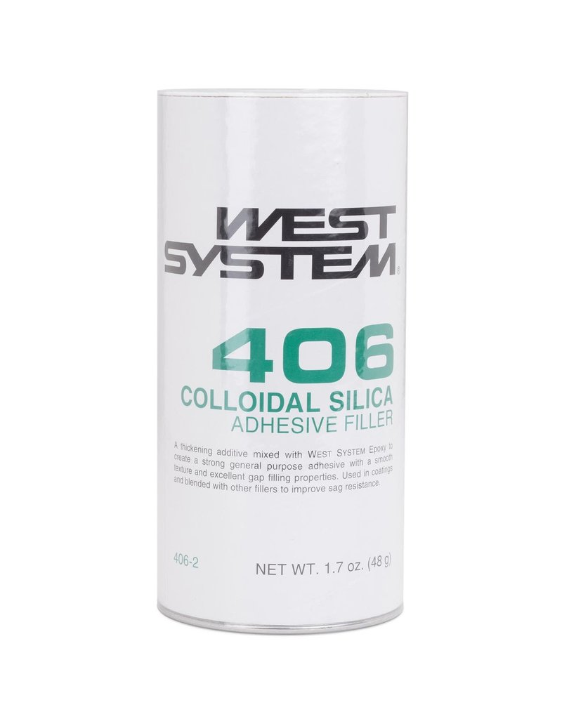 West System 406 Colloidal Silica Adhesive Filler 1.7oz