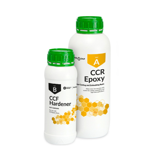Entropy Resins CCF Clear Casting Resin 3qt Fast Kit