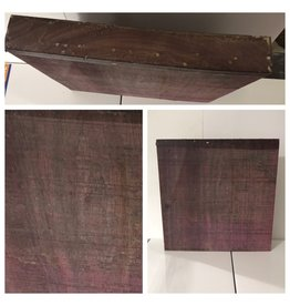 Wood Purpleheart Block 12x12x2