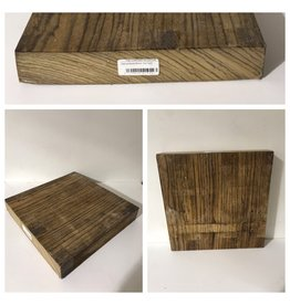 Wood ZebraWood Block 12x12x2