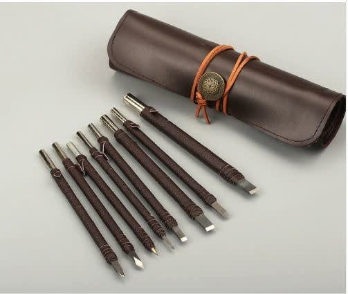 Carbide Stone Carving Kit