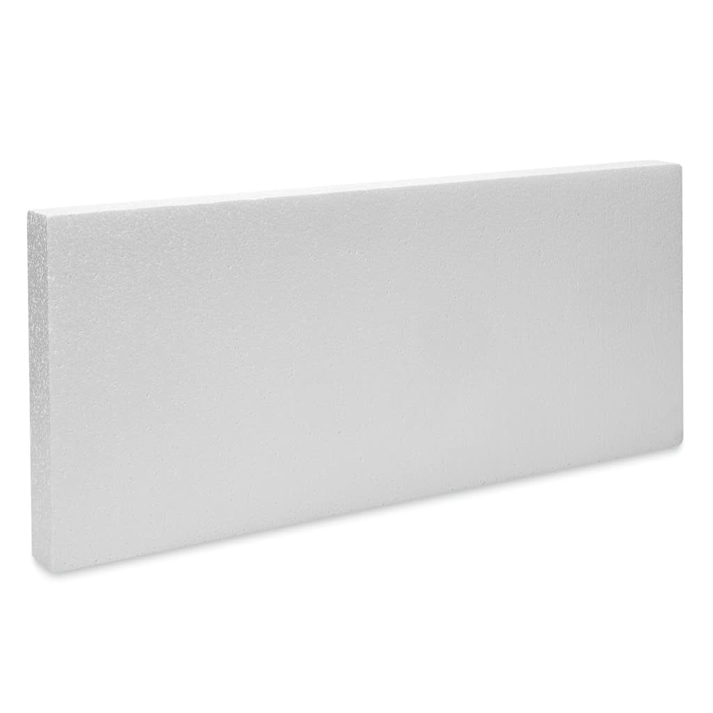 "White Bead Foam Block 2''x12""x28"""