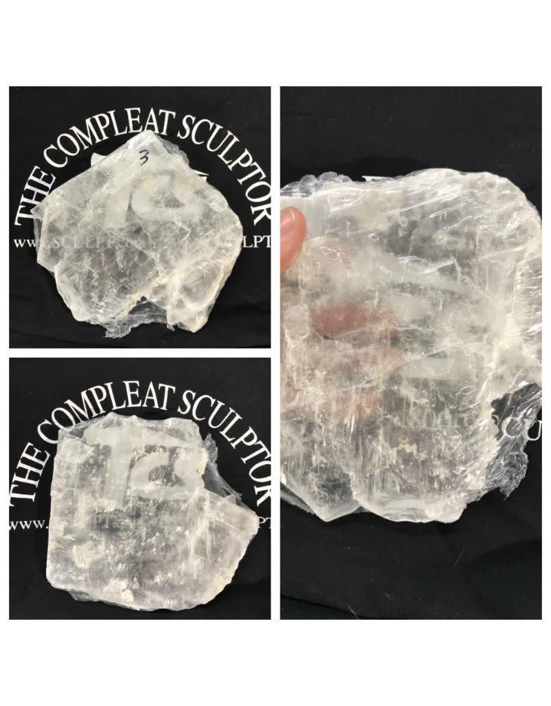 Stone Selenite Slab 6x5x1/2