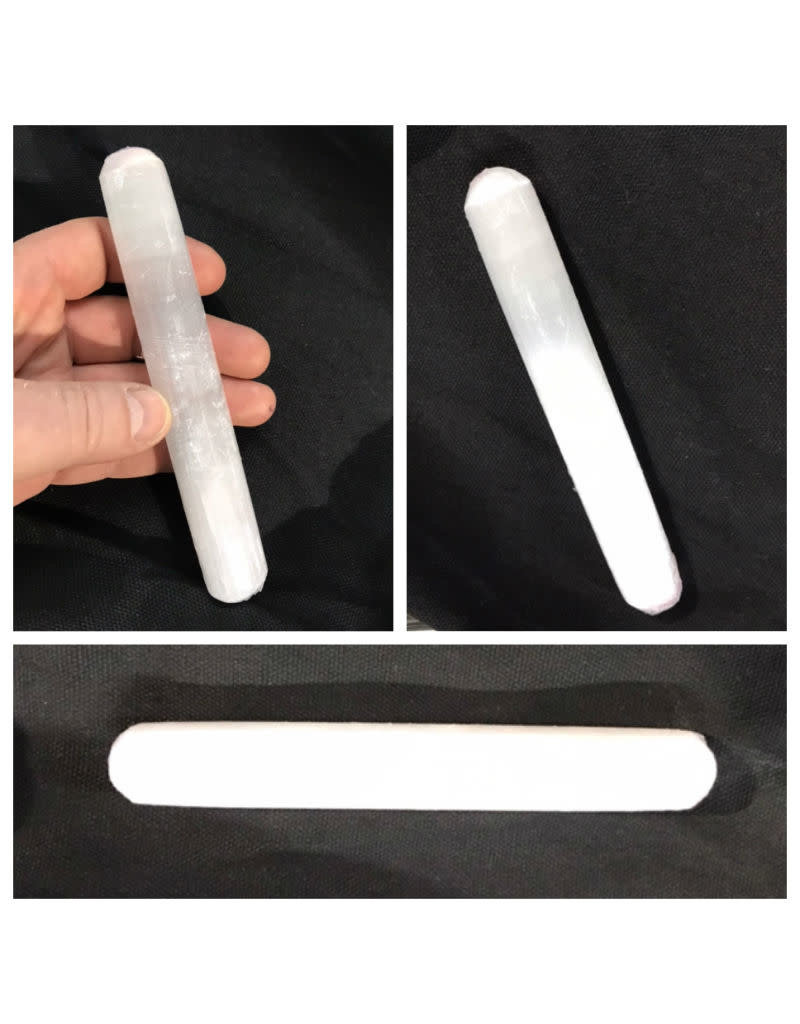 Just Sculpt Selenite Wand
