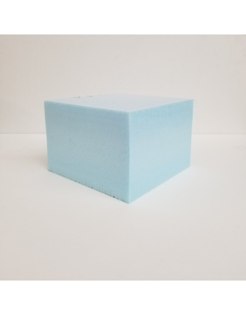 Just Sculpt Blue Board Foam 6''x6''x4''