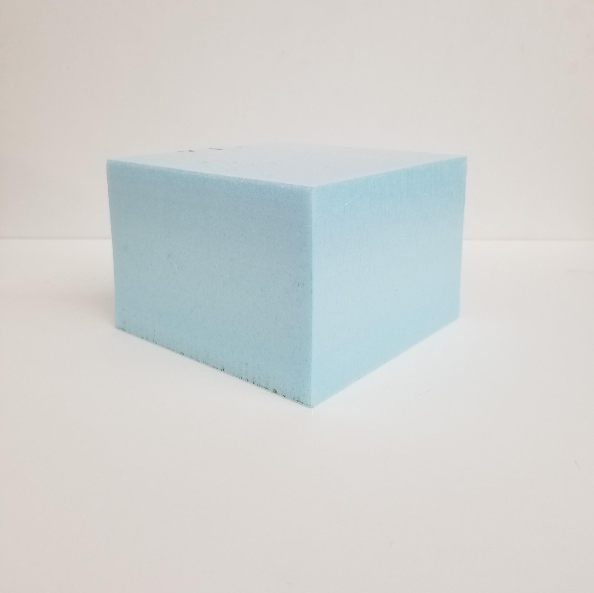 Just Sculpt Blue Board Foam 6''x6''x4''