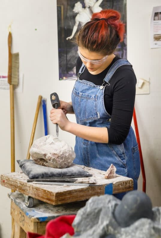 190700 Stone Carving Tuesday Evening Class July