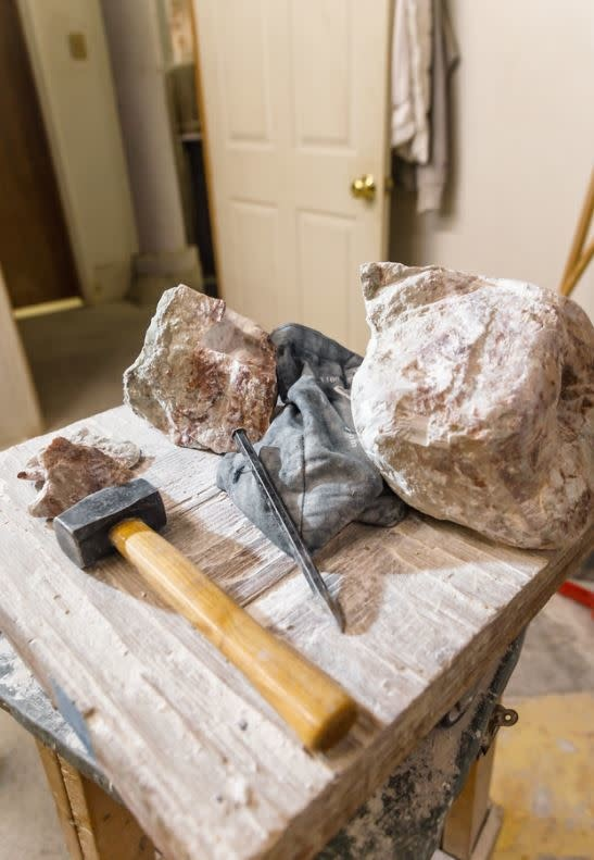 190800 Stone Carving Wednesday Afternoon Class August
