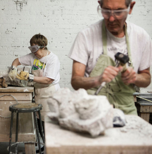 190700 Stone Carving Wednesday Afternoon Class July