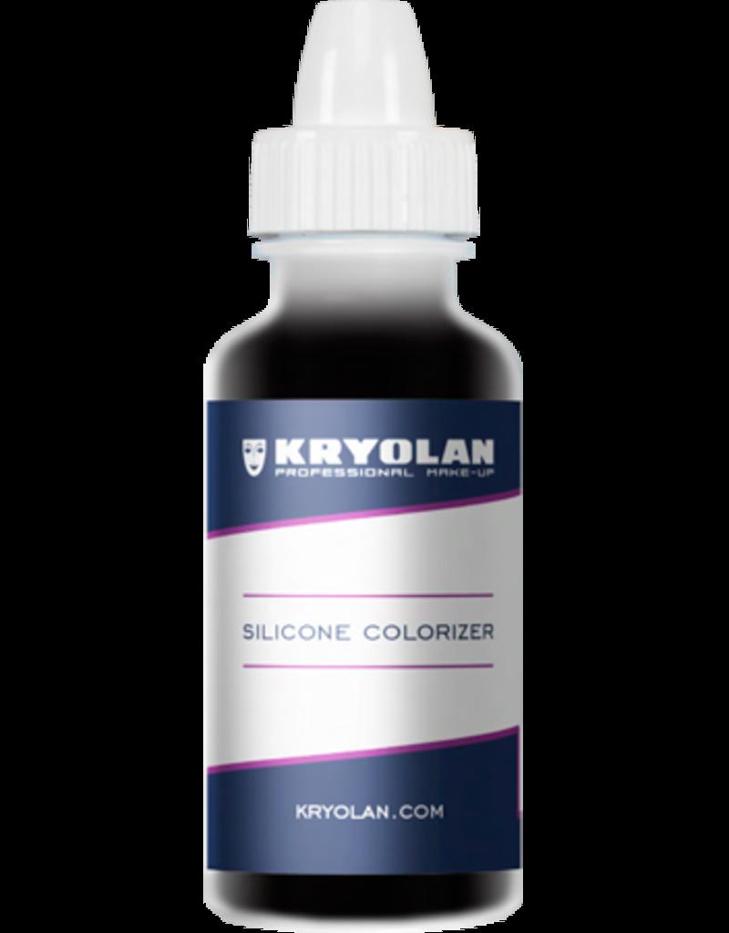Kryolan Silicone Colorizer Black 15ml