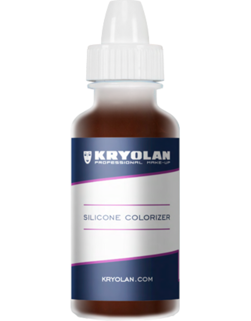 Kryolan Silicone Colorizer Brown 15ml