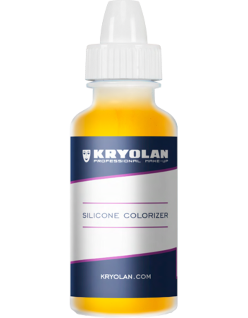 Kryolan Silicone Colorizer Yellow 15ml