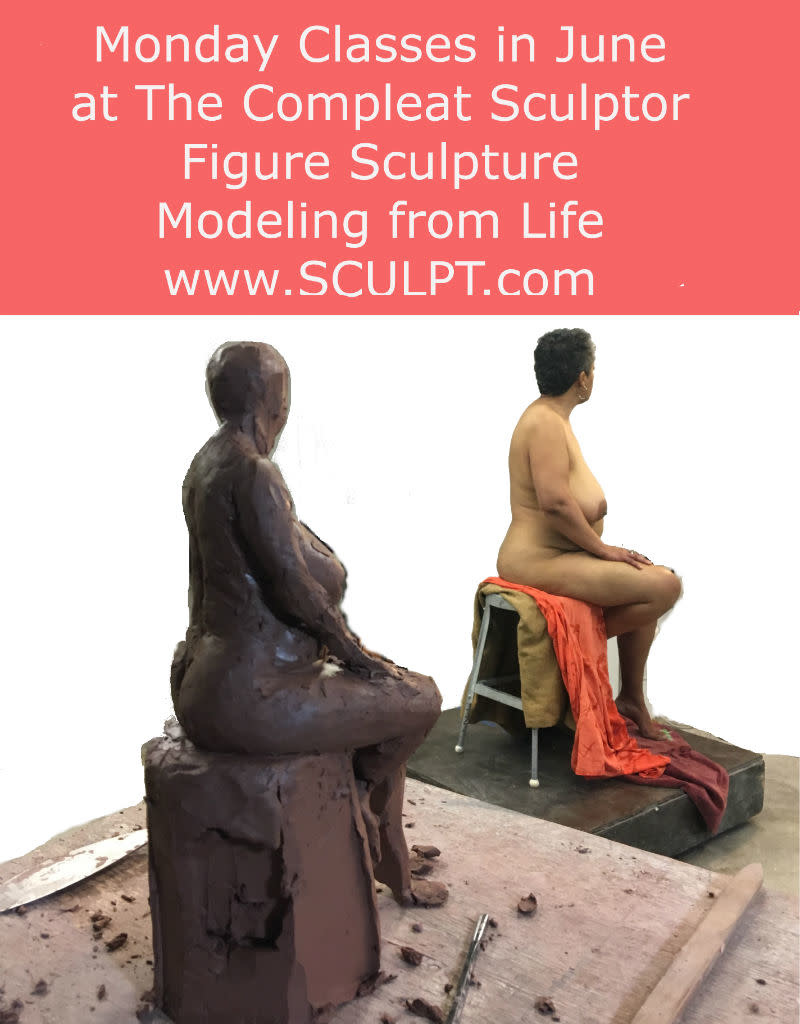 TCS Classes 190603 Figure Sculpture: Modeling from Life