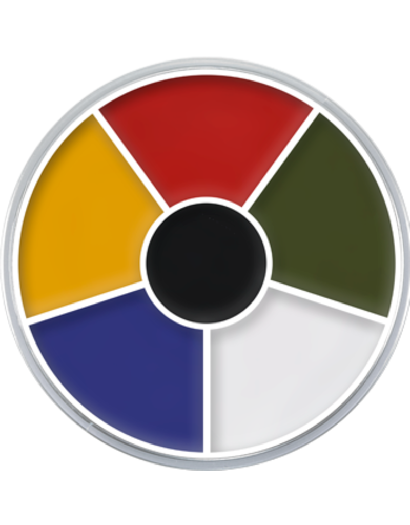 Kryolan Cream Color Circle Multi 30g
