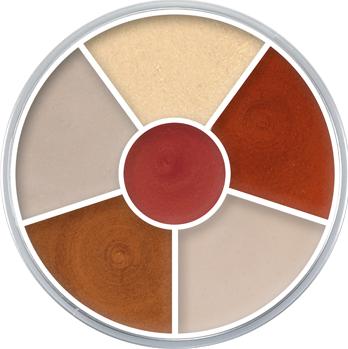 Kryolan Cream Color Circle Interferenz Classic 30g