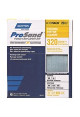 Norton Pro Sand 320 grit 20 pack