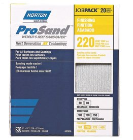 Pro Sand 220 grit 20 pack