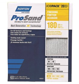 Pro Sand 180 grit 20 pack
