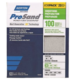 Norton Pro Sand 100 grit 20 pack