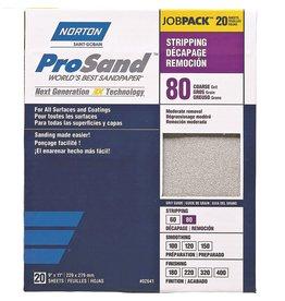 Norton Pro Sand 80 grit 20 pack