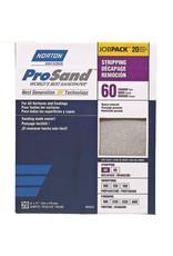 Norton Pro Sand 60 grit 20 pack