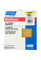 """Norton Multisand Aluminum Oxide 150C 9""""x11"""" 25pk"""