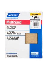 "Multisand Aluminum Oxide 120C 9""x11"" 25pk"