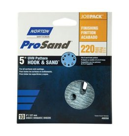 "Pro Sand Hook and Sand 220 grit 5""x 5 and 8 10 pack"