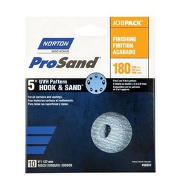 "Pro Sand Hook and Sand 180 grit 5""x 5 and 8 10 pack"
