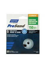 "Pro Sand Hook and Sand 150 grit 5""x 5 and 8 10 pack"
