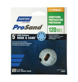 "Pro Sand Hook and Sand 120 grit 5""x 5 and 8 10 pack"