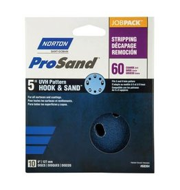 "Pro Sand Hook and Sand 60 grit 5""x 5 and 8 10 pack"