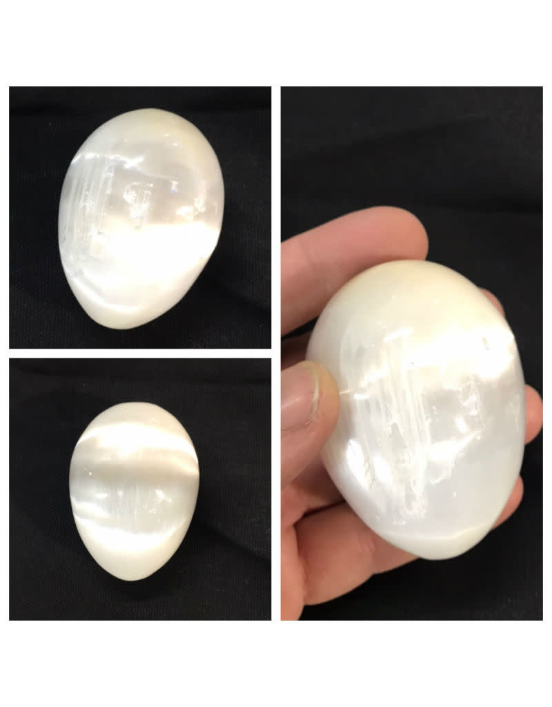 Stone Selenite Egg