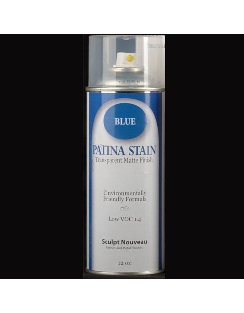 Sculpt Nouveau Patina Stain Matte Blue 12oz Spray Can