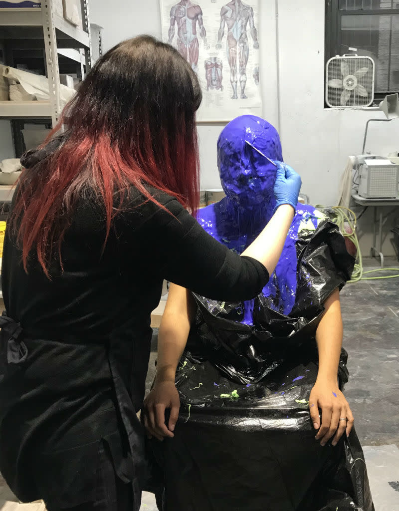 TCS Classes 190725 Face Casting & Mold Making Demo- July 25, 2019