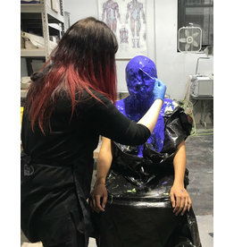 TCS Classes 190919 Face Casting & Mold Making Demo- September 19, 2019