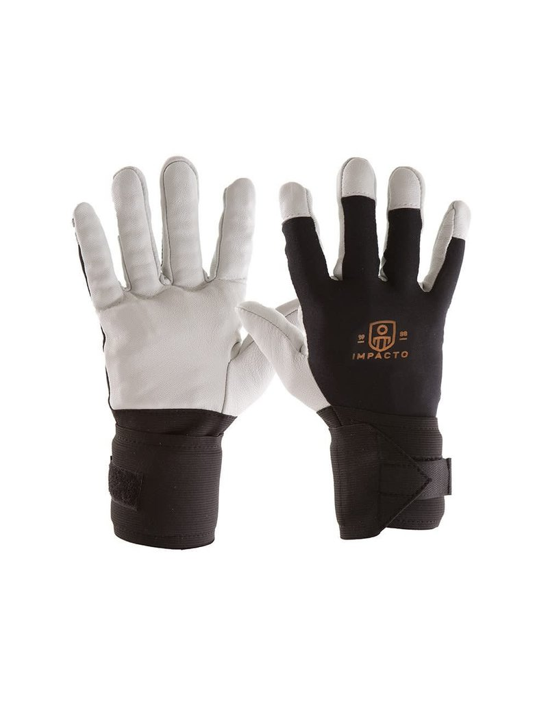 Impacto Pearl Leather Anti-Vibration Gloves Small