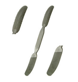 Just Sculpt Large Curved Riffler File-Rasp Combo