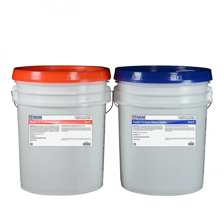 Polytek Platsil FS-10 10 Gallon kit (80lb)