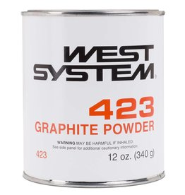 West System 423 Graphite Powder 12oz