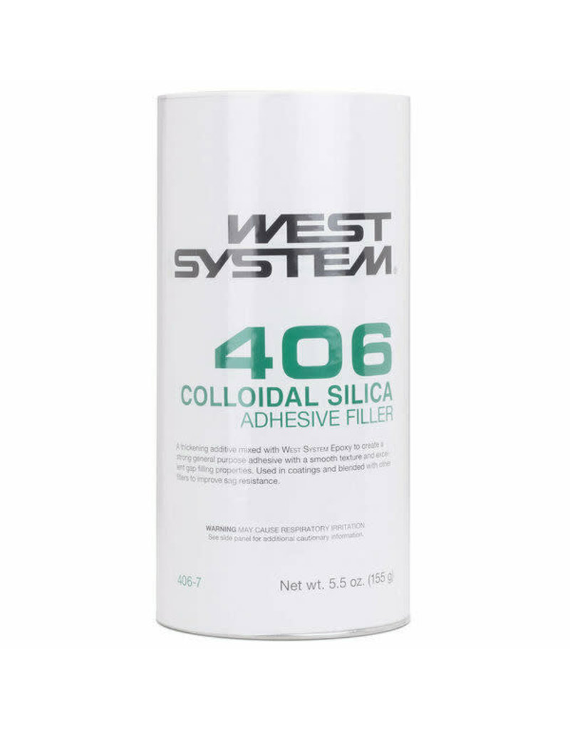 West System 406 Colloidal Silica Adhesive Filler 5.5oz