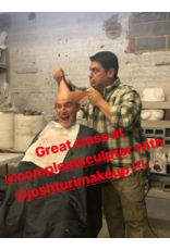 190720 Proper Vinyl Bald Cap Application Demo (including the addition of a Silicone Occipital Prosthetic) July 20 11am-1pm JTM