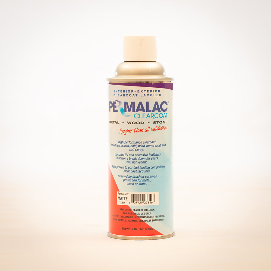 Permalac Permalac Matte Spray Can 12oz