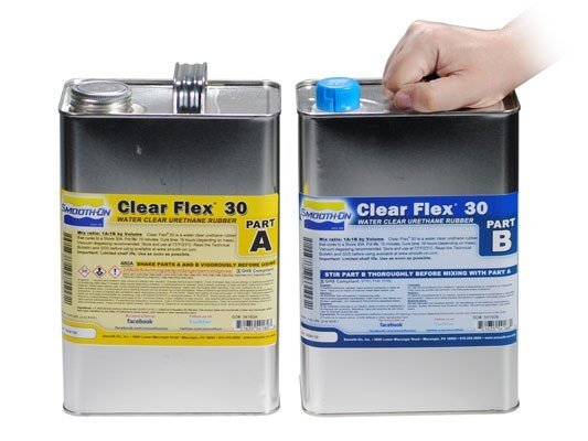 Smooth-On Clear Flex 30 2 Gallon Kit Special Order