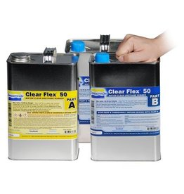 Smooth-On Clear Flex 50 3 Gallon Kit