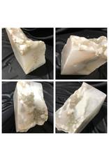 Stone 21lb Mario's White Translucent Alabaster 10x5x6 #101096