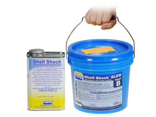 Smooth-On Shell Shock Slow Gallon Kit