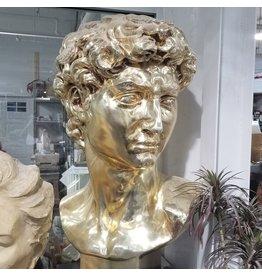 Just Sculpt Chrome David Bust 48''