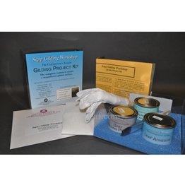 Sepp Leaf Complete Gilding Kit Genuine Silver Leaf